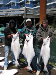 halibut in Newport Oregon