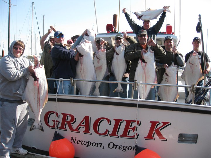 Halibut Limits in Newport 2011