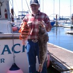 A beautiful Tiger rockfish and another great Lingcod