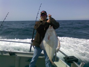 Nearshore halibut success!