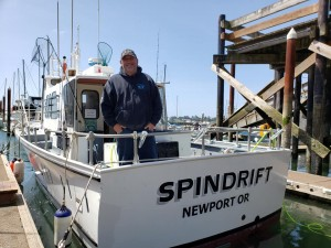 Welcome Captain Jerald and the Spindrift!